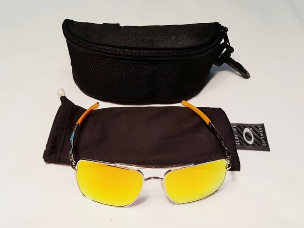 42dccd6807 EXCELLENT Oakley Deviation Polished Chrome   Fire Iridium OO4061-03  Sunglasses
