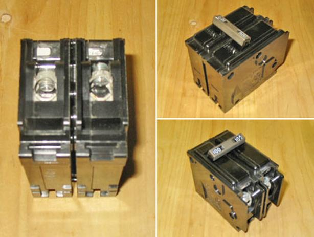 ITE 'Type BL' 100 Amp, 2 Pole, 240 Volt Main Circuit Breaker ~ Rare!