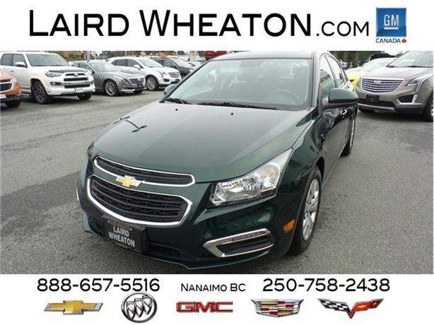 2015 Chevrolet Cruze LT Automatic, Low Kms, Sunroof