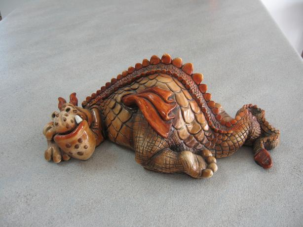 Lazlo the Lazy Dragon by John RAYA from The Fantasy Series
