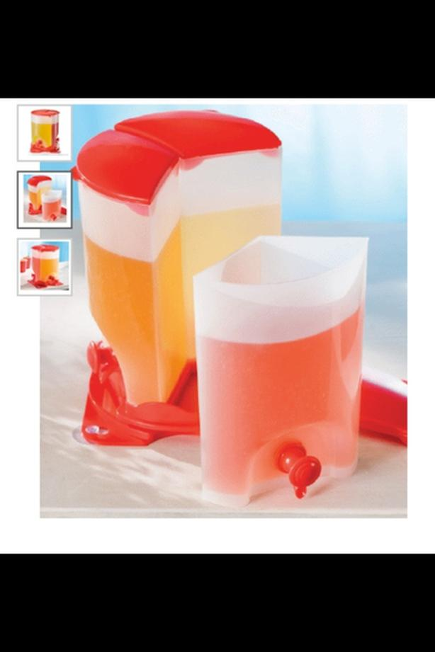 3 Compartment Juice Container