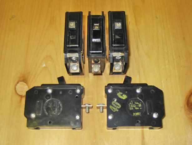 TAYLOR ELECTRIC Bolt-On Circuit Breakers (Mixed Lot) ~ Rare!