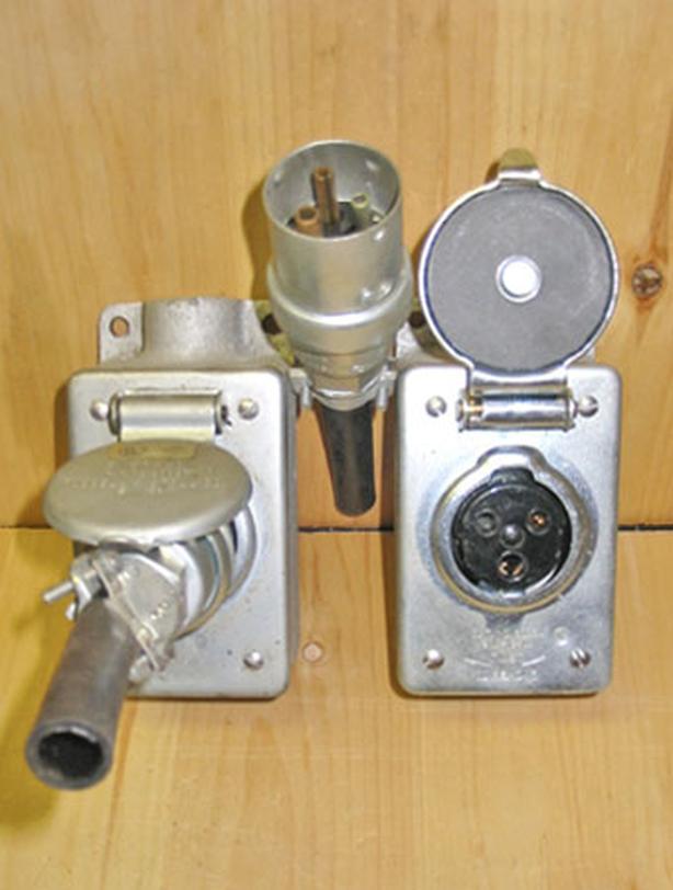 RUSSELL & STOLL EVER-LOK 20 Amp, 125 Volt Twist-Lock Plug Receptacle Box Set!