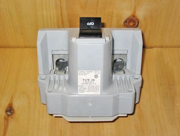 FPE 'Type 2B' 200 Amp, 2 Pole, 240 Vac Circuit Breaker (FPE 2B200) ~ Rare!