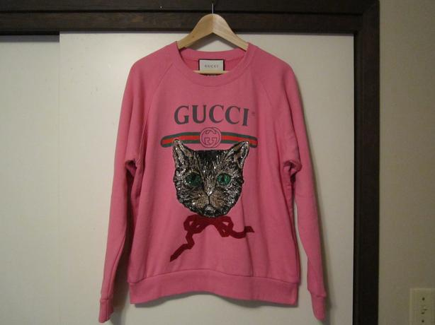 ee0c4e1a133 Authentic Gucci Logo Sweatshirt with Mystic Cat Central Saanich ...