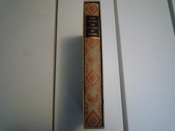 Heritage Press: The Last Days of Pompeii by Lord Lytton 1957
