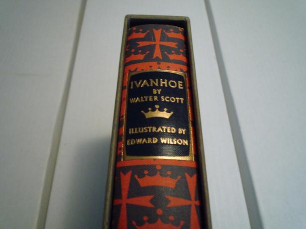 Heritage Press: Ivanhoe by Sir Walter Scott 1950