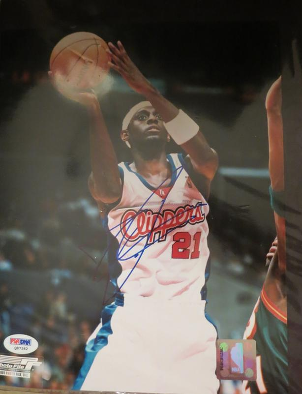 Darius Miles, Autographed 8x10, with Certificate of Authenticity