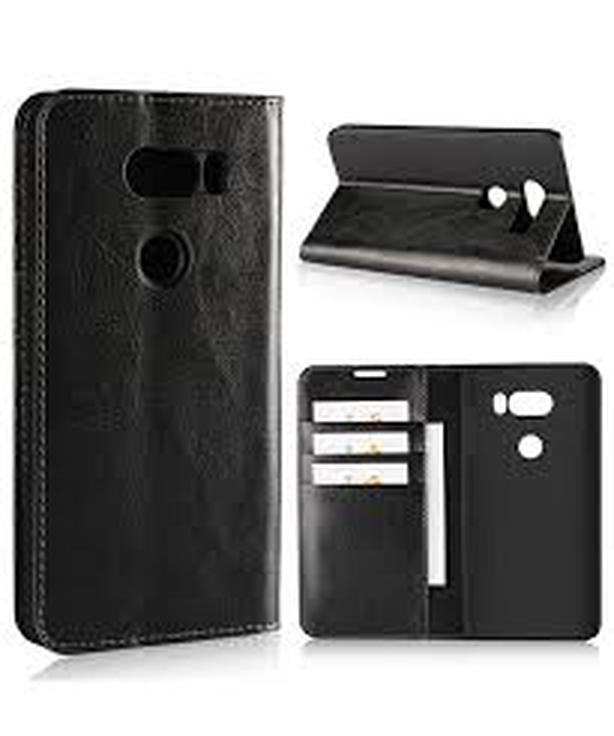 New Wallet Folio Flip Stand Leather Case for LG V30