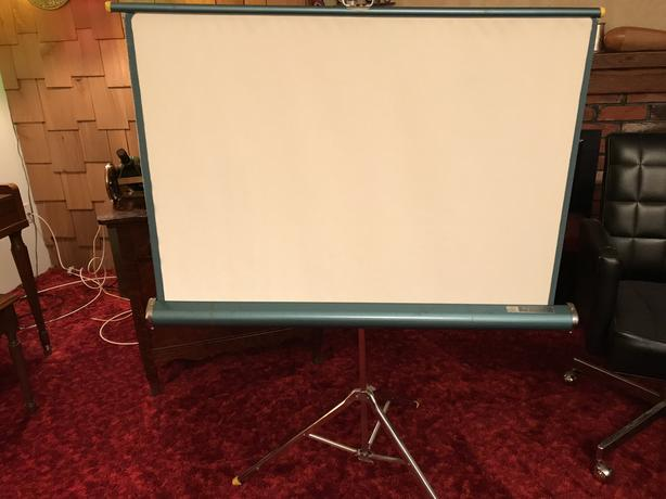  Log In needed $50 · Bell and Howell 16mm Film Projector with screen
