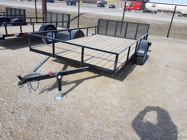 2018 Prairie VIew AG 84X12 Utility Trailer HH4214