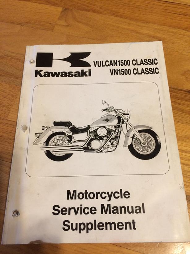 1996 kawasaki vulcan 1500 classic service manual