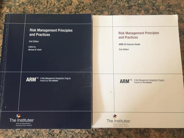  Log In needed $300 · CRM 54 ARM 54 risk management principles and  practices (95% new)