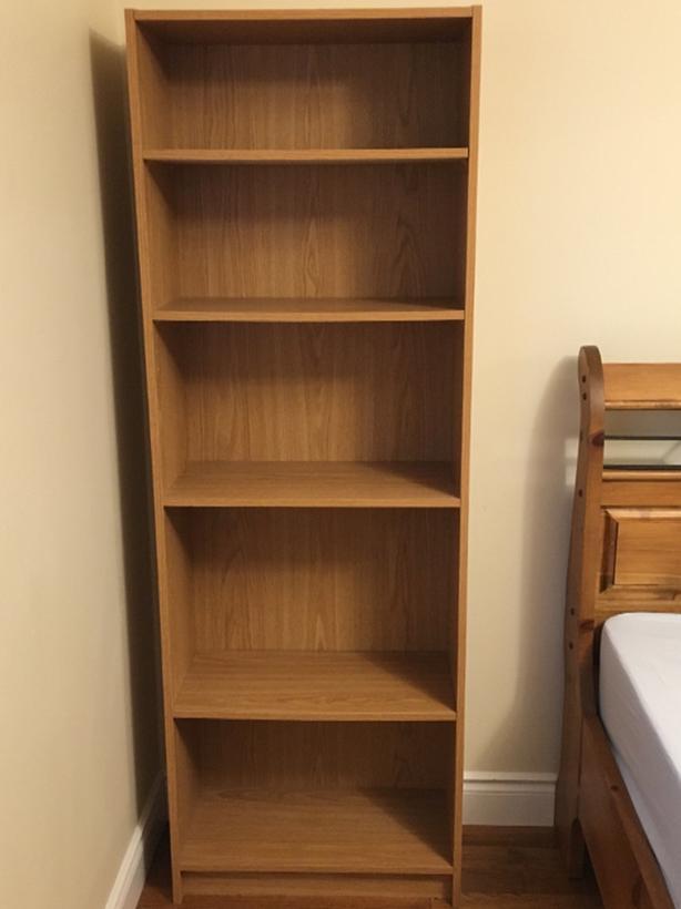 FREE 6ft Light Brown Bookshelf