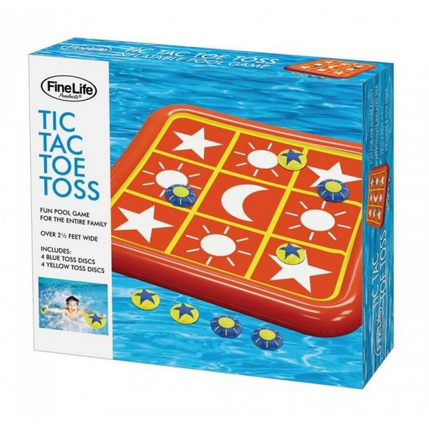 Inflatable Toss Tic Tac Toe Game Pool Float Bulk Buy of 4 Gifts Resale