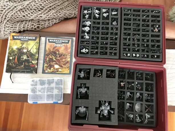 Warhammer 40k Ork Army 126 Guys