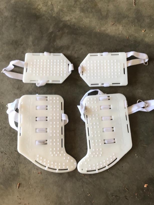 Rollerfly Goalie Slide Plates For Inline Or Ball Hockey Esquimalt