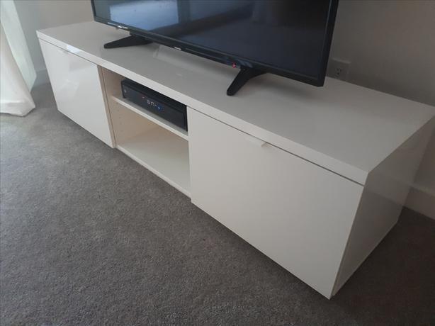 Verwonderend Ikea Byas TV Bench - White Victoria City, Victoria OB-04