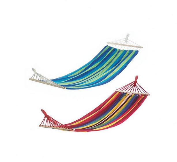 Striped Hammock Blue Red 2 Lot Mix & Match Brand New