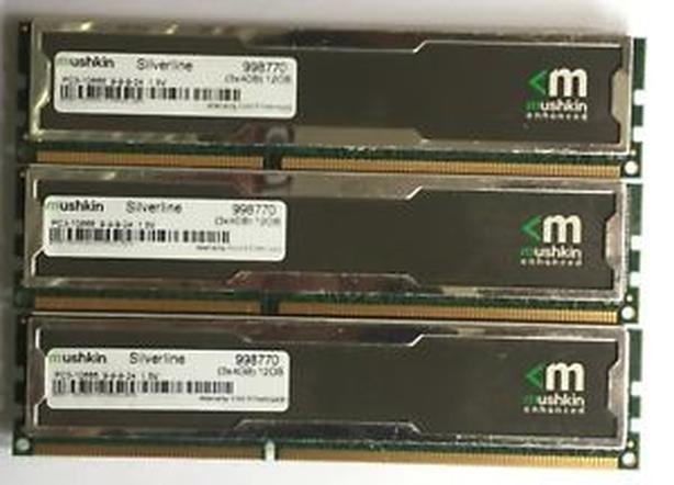 Mushkin 3x4GB DDR3-1600 XMP triple channel memory kit West Shore