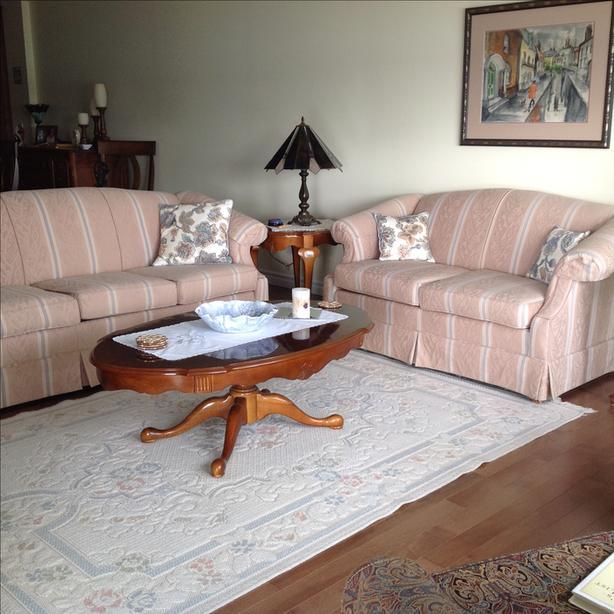 Custom Sofa & Loveseat