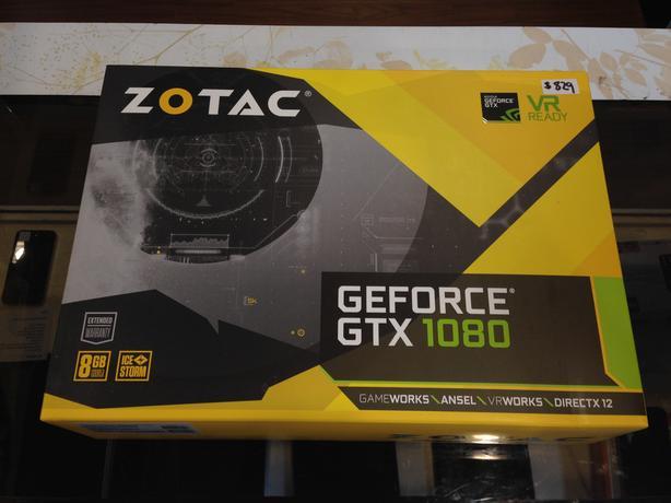 ZOTAC GeForce GTX 1080 8 GB Video Card w/ Warranty!