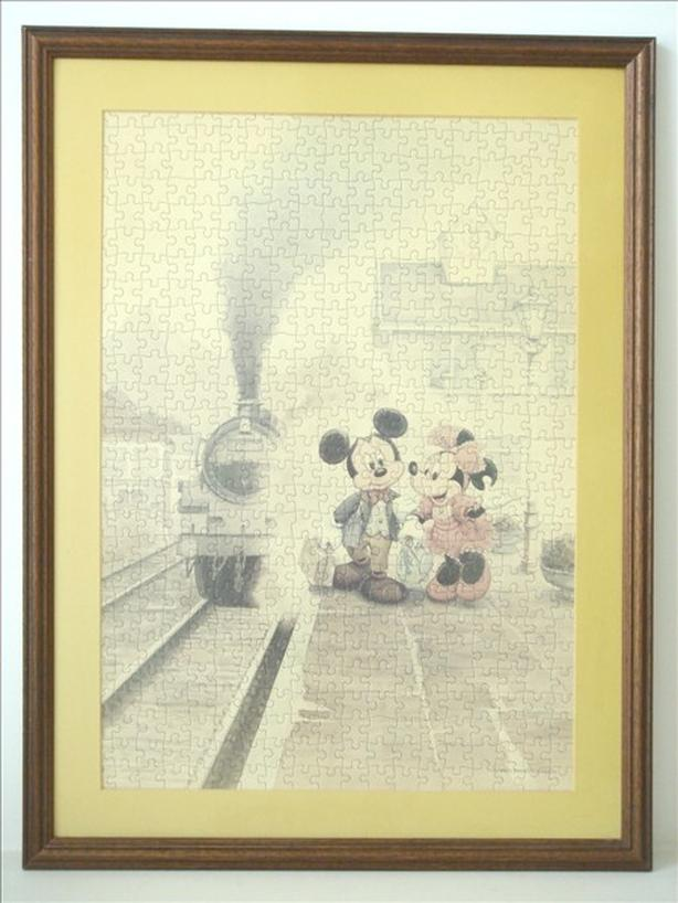 disney mickey amp minnie mouse framed jigsaw puzzle art vancouver