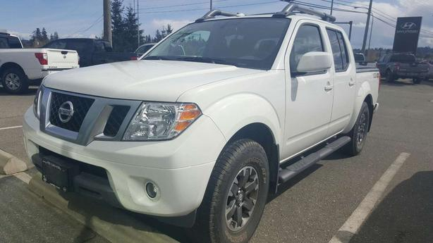 Nissan Campbell River >> 2017 Nissan Frontier Pro 4x Dual Climate Nav Bluetooth