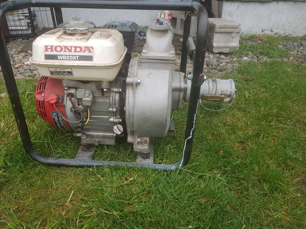 2011 Honda WB20XT Trash Pump