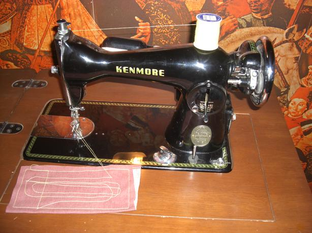 Kenmore Sewing Machine with Desk