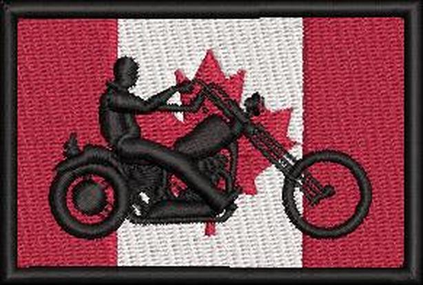 Canadian Biker Flag