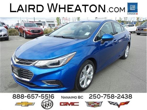 2016 Chevrolet Cruze Premier, Sunroof No Accidents