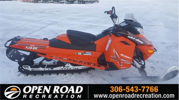 2015 Ski-Doo Summit® X® Rotax® 800R E-TEC® Race Orange