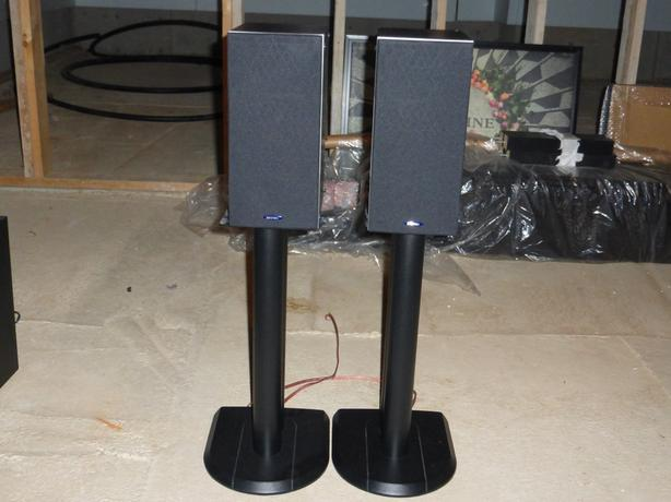 Energy C-1 Bookshelf Speakers with Stands