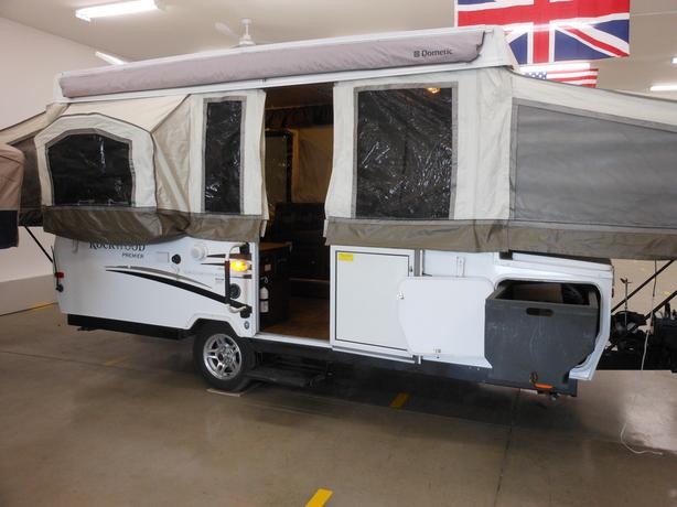 2011 Rockwood 2514G Tent Trailer