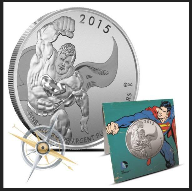 Superman Silver Coin