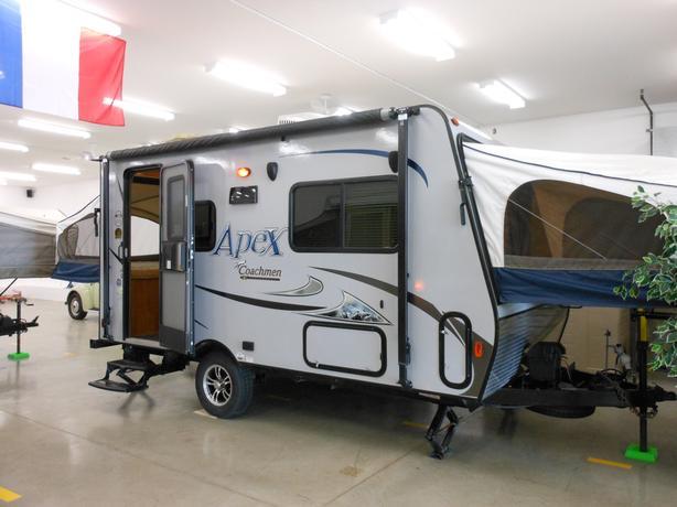 2015 Coachmen Apex 151RBX Hybrid Trailer