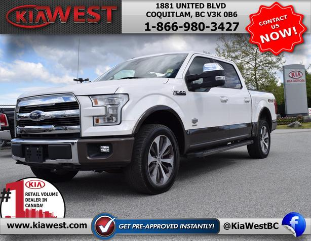 2015 Ford F-150 King Ranch Super Crew Cab V6 4x4
