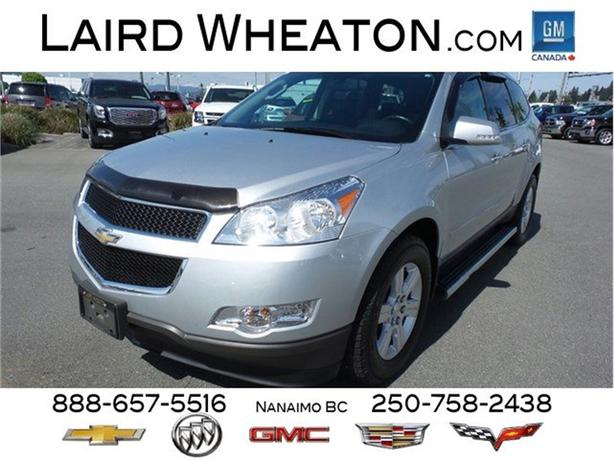 2012 Chevrolet Traverse 1LT AWD, Sunroof & Back-Up Camera
