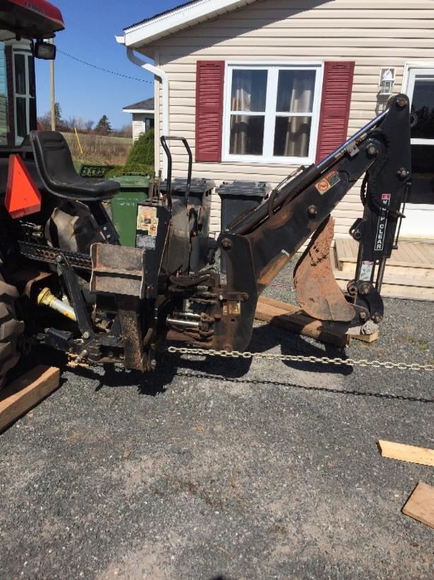 tractor attatchment backhoe