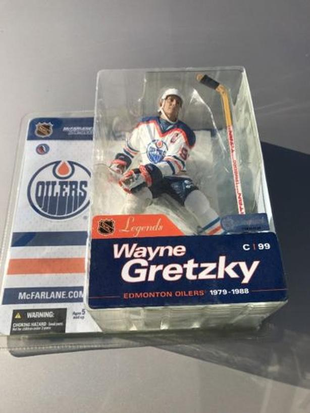 NHL Mcfarlane Hockey Legends Series 1 Wayne Gretzky Edmonton Oilers VARIANT RARE