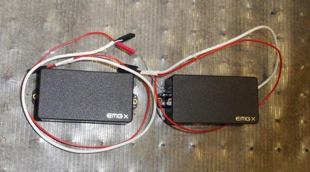 Pair of EMGX Pickups