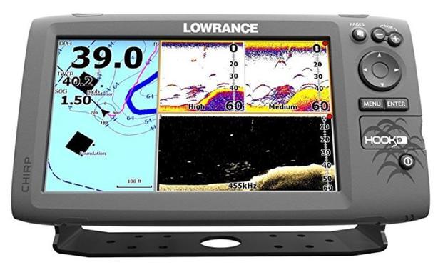 LOWRANCE HOOK-9 GPS FISH SOUNDER (NEW) Oak Bay, Victoria