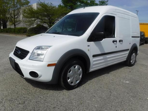 2011 Ford Transit Connect Cargo Van XLT with Side and Rear Door Glass