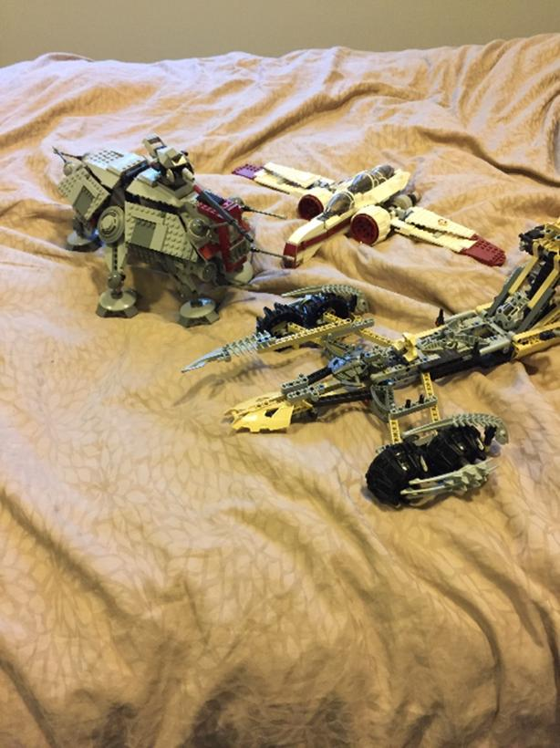 rare discontinued lego star wars and bionicle sets lot West