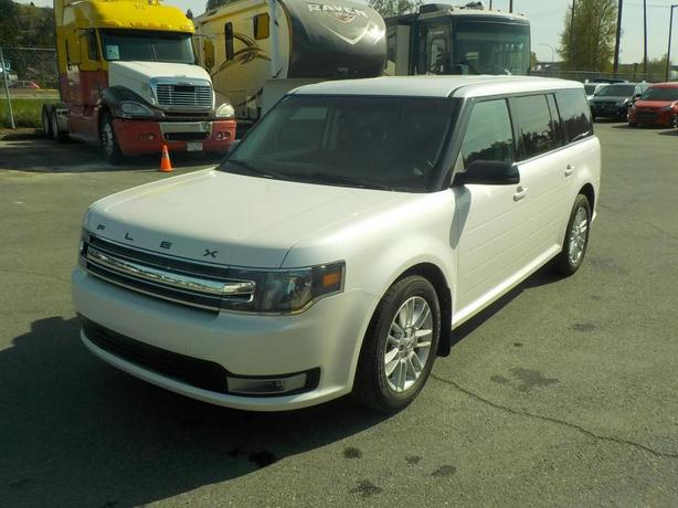 2014 Ford Flex SEL AWD 7 Passenger with Third Row Seating