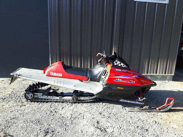 Yamaha Mountain max 700 triple 1998
