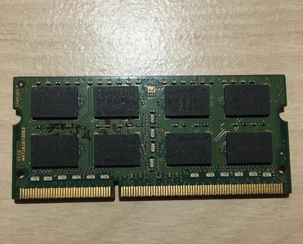 Samsung 8GB DDR3 1600 Mhz laptop ram