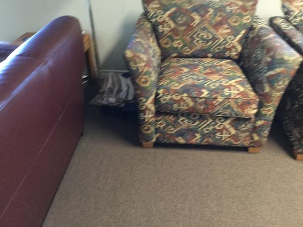 FREE: 2 large chairs - super comfortable