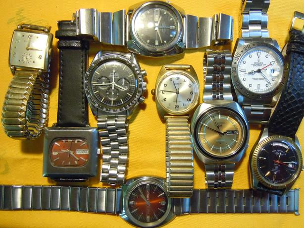 WANTED:  Vintage men's mechanical wrist watches